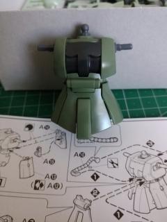 量産型ザク胴体