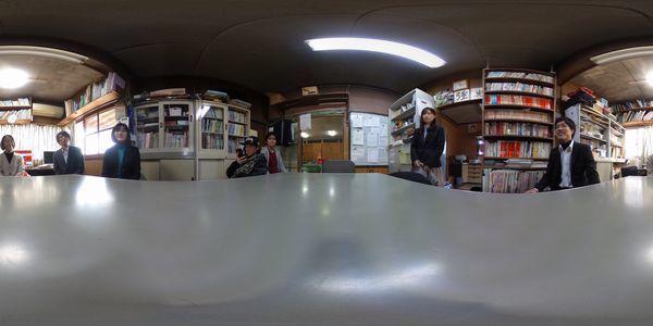 360度カメラ!