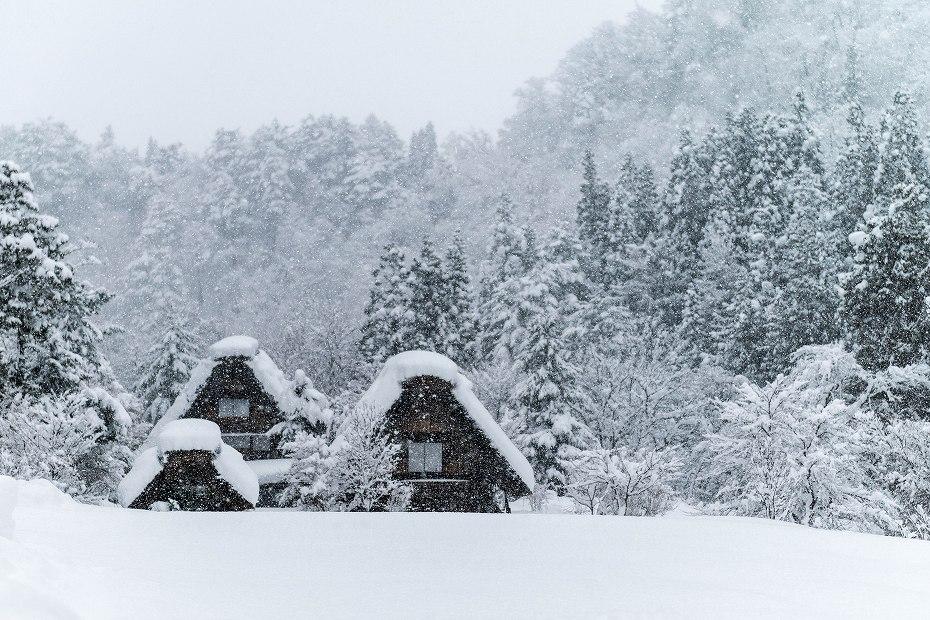 2017.12.13 白川郷の雪景色 1