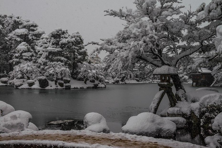 2017.12.17 雪景色の兼六園 9