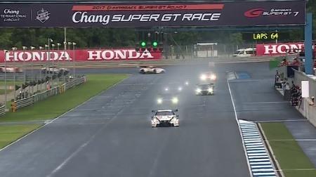 2017 SUPER GT ラウンド7 タイ 決勝