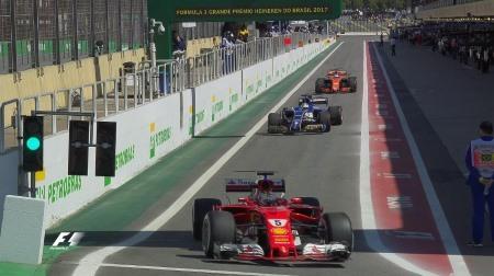 2017年F1第19戦ブラジルGP、FP1結果