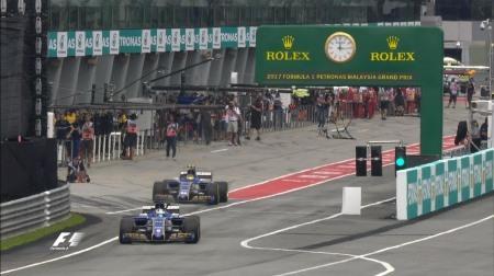 2017年F1第15戦マレーシアGP、FP2結果