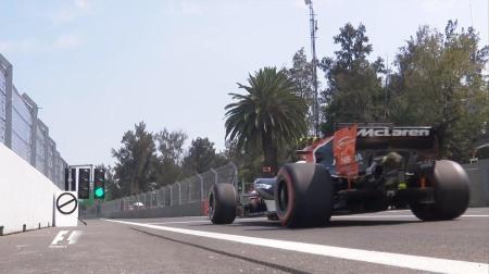2017年F1第18戦メキシコGP、FP2結果