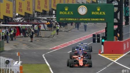2017年F1第16戦日本GP、FP3結果