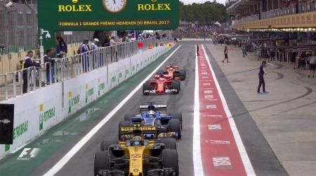 2017年F1第19戦ブラジルGP、FP3結果