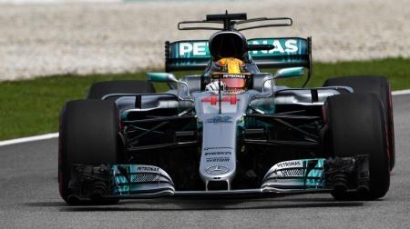 2017年F1第15戦 マレーシアGP、PPは