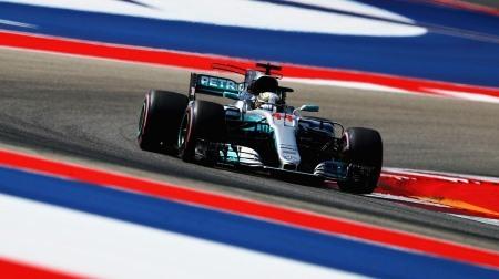 2017年F1第17戦 アメリカGP、PPはハミルトン