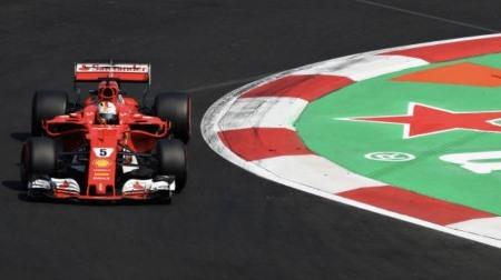 2017年F1第18戦 メキシコGP、PPはベッテル