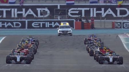 2017年F1第20戦のスタート