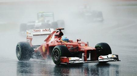 F1マレーシアGPは3日間雨の予報