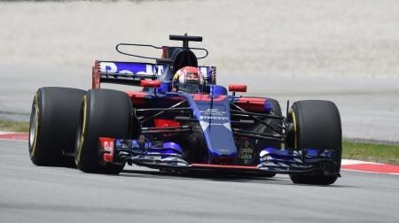 ガスリー、デビュー戦14位@F1マレーシアGP