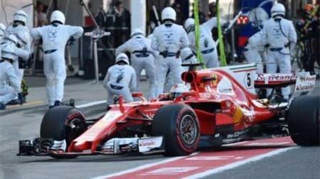 2017フェラーリF1が完全に俺たち