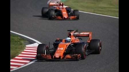 ホンダF1、3年連続で日本GP入賞できず