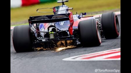 F1アメリカGPのトロロッソのシート