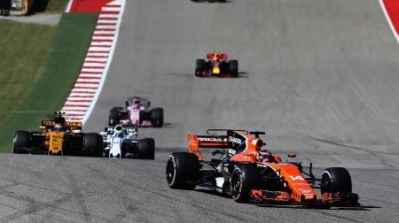 ホンダエンジン(PU)、MGU-Hトラブル@F1アメリカ