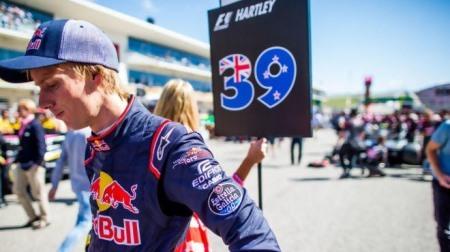 ハートレー、F1アメリカGPでパフォーマンスを示していた
