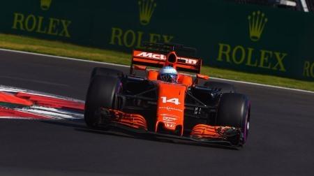 アロンソが驚速@F1メキシコGP