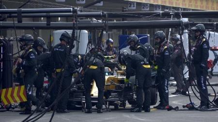 ルノーの信頼性問題が多発@F1メキシコGP