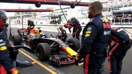 リカルド、ルノーエンジンのトラブルで@F1メキシコGP
