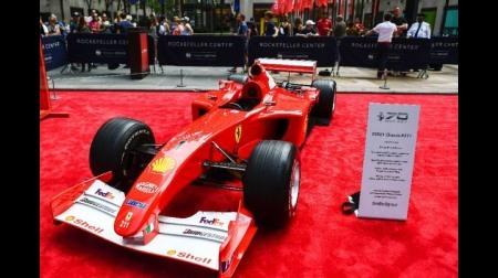 フェラーリF2001の落札価格が8億4000万円@サザビーズの美術オークション