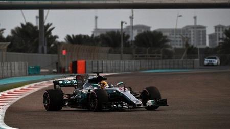 F1アブダビテスト初日結果