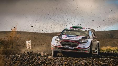 2017 WRC 第12戦 イギリス 総合結果