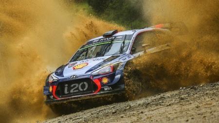 2017 WRC 第13戦 オーストラリア 総合結果