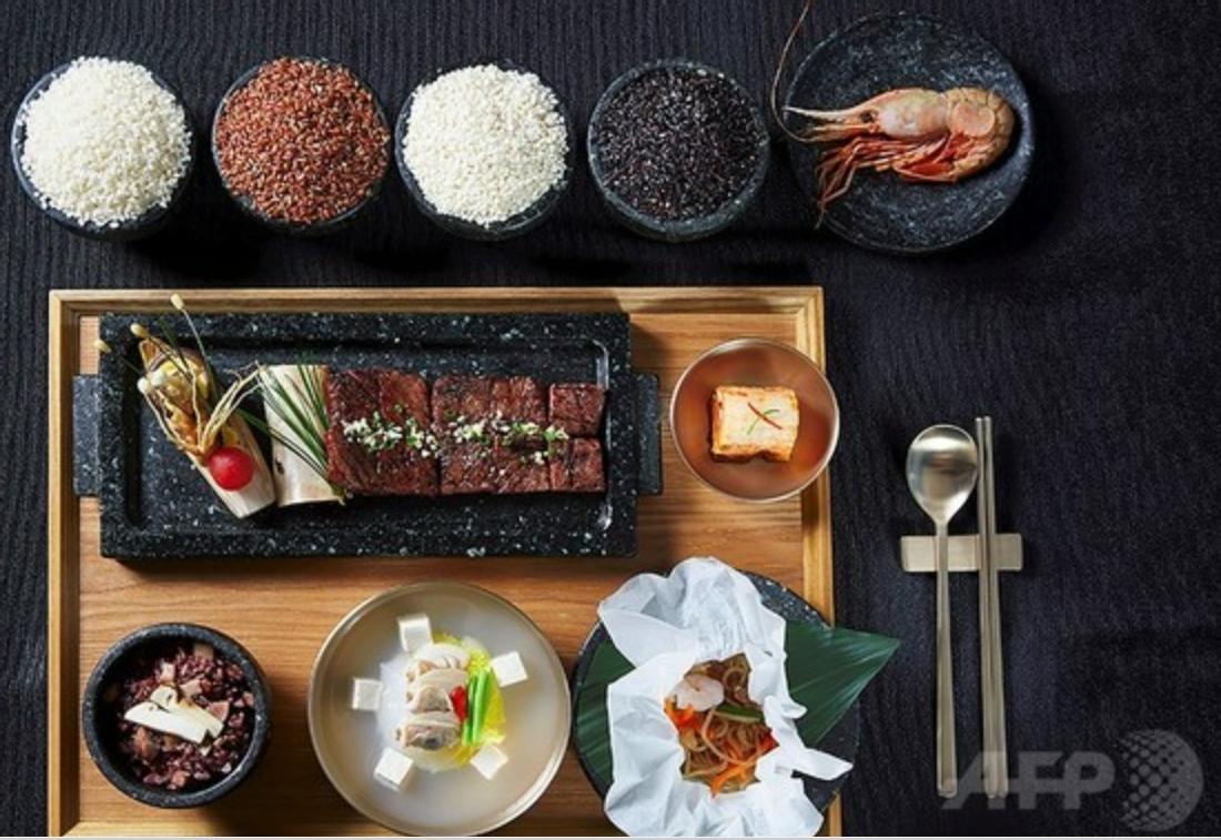 トランプ米大統領夫妻に供された韓国料理