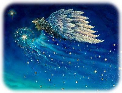 夜空の天使