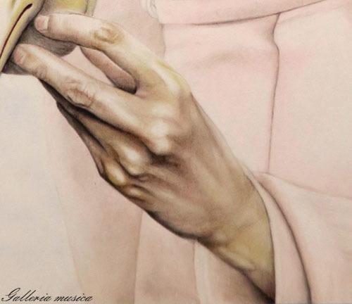 手を描く7