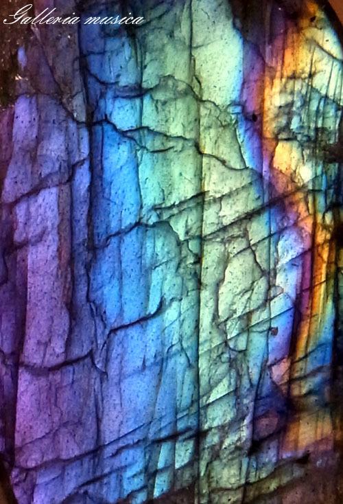 紫陽花色のラブラドライト3