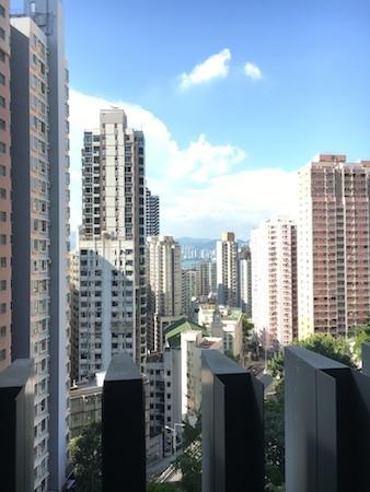 香港大学 とにかく高い場所にあります