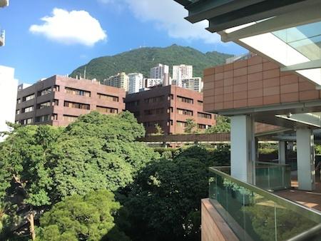 香港大学 地図がわかりにくいです