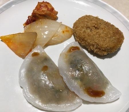香港 シルバークリスラウンジ 主菜