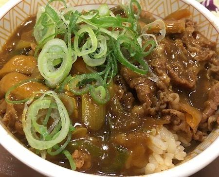 ゼンショーHD すき家 カレー南蛮牛丼