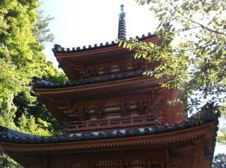 三室戸寺三重塔