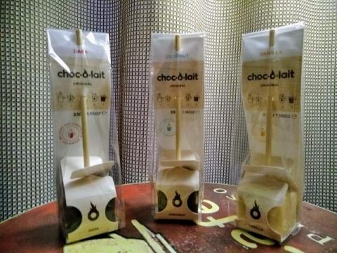 ベルギー製ホットチョコレート3種