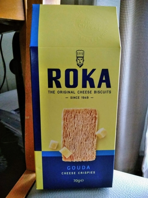 オランダ製ロカ社のゴーダチーズクリスプ1