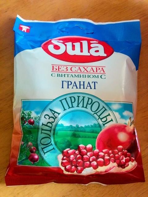 ロシア製SULAのざくろキャンディー1