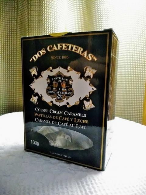 スペイン製コーヒークリームキャラメル ドス・カフェテラス1