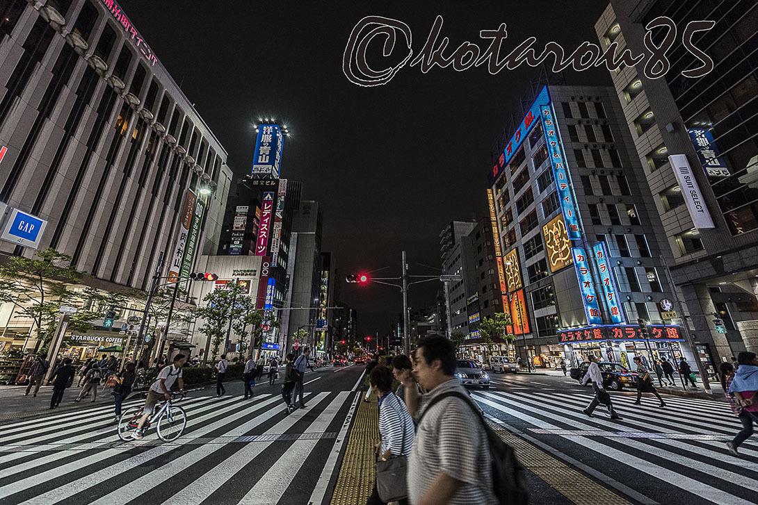 錦糸町の夜 20171004