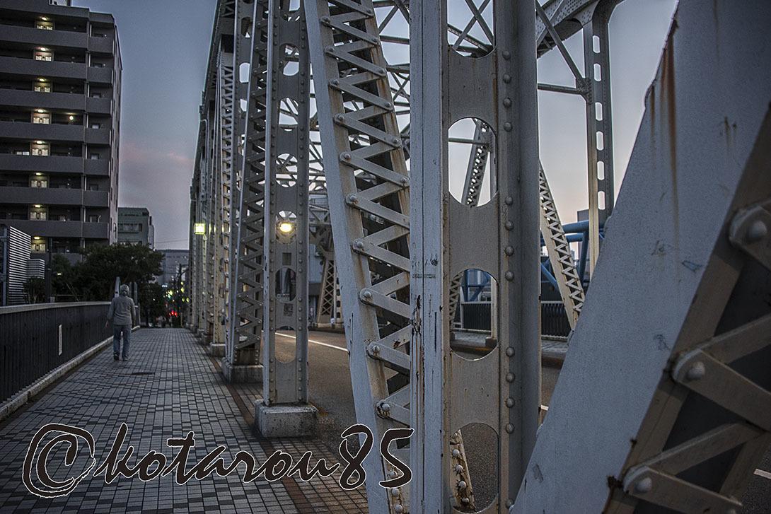 トラス橋のある街4 20171009