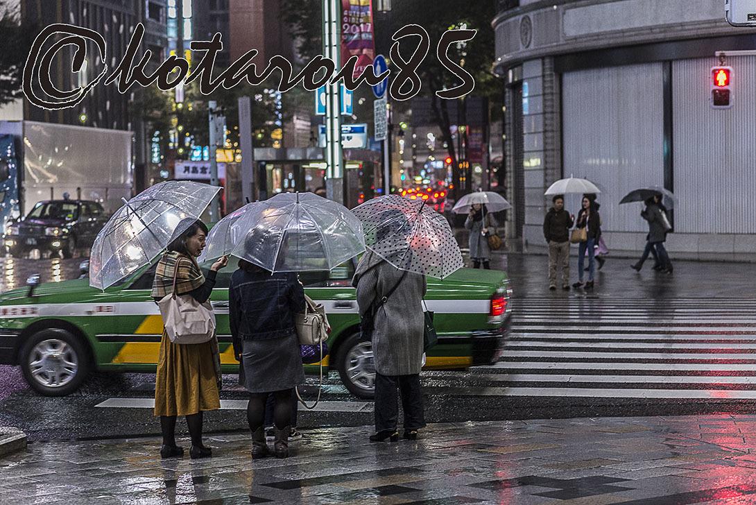 ハナキンも雨 20171021