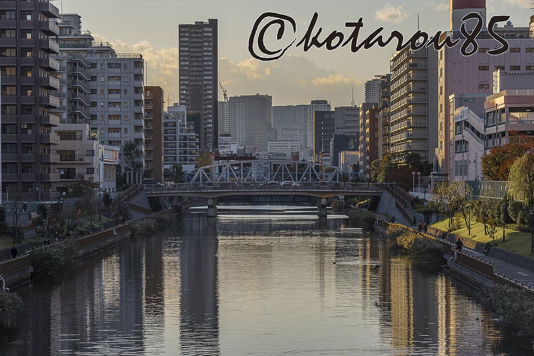 川ある街の休日 20171120