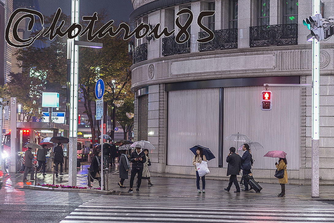 雨の四丁目交差点2 20171123