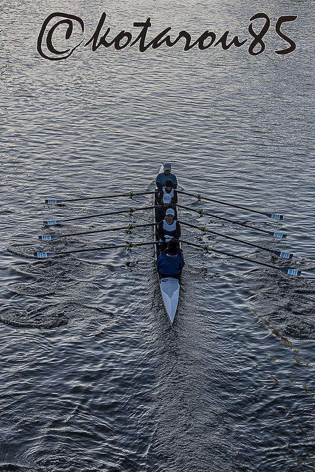 小名木川をすべるボート8 20171222