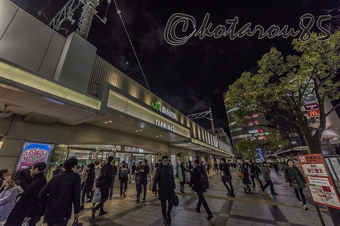 クリスマスの錦糸町 20171226
