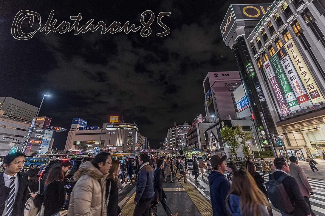 クリスマスの錦糸町2 20171226