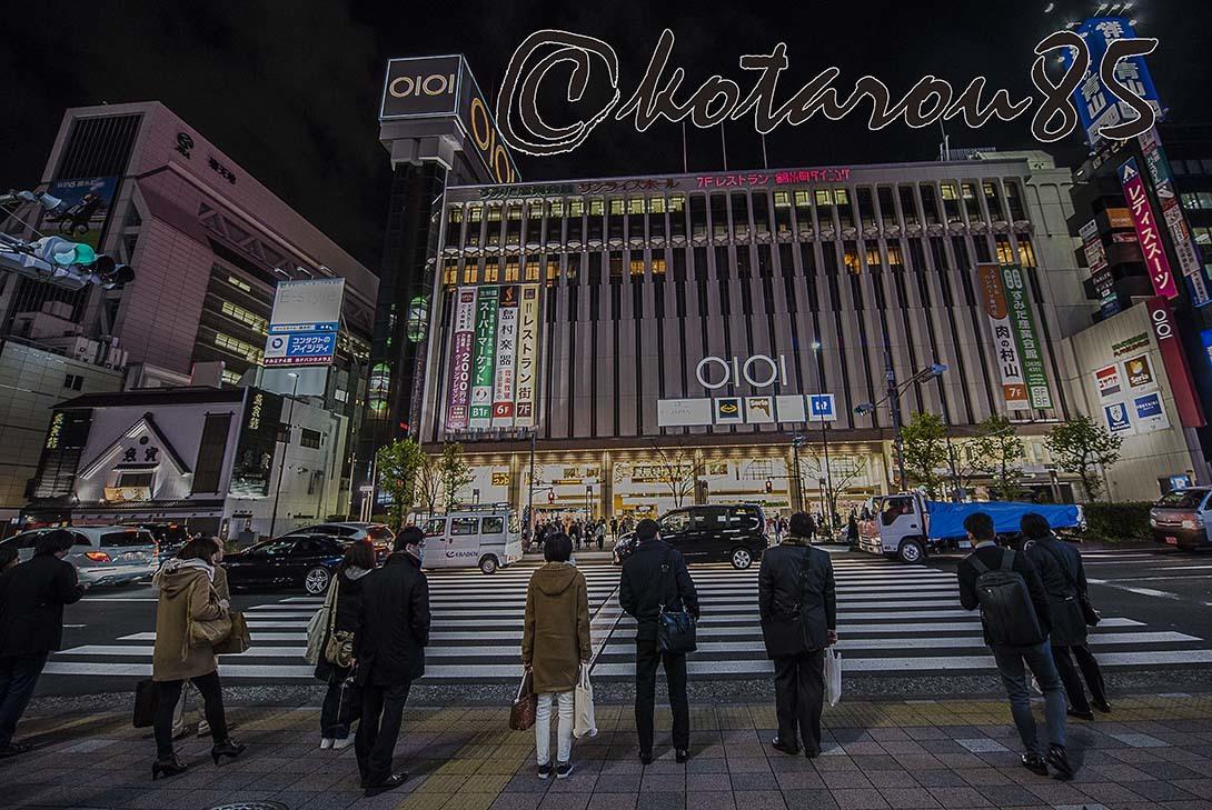 クリスマスの錦糸町3 20171226